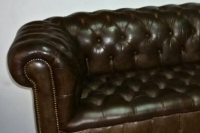 Chesterfield, réfection assise